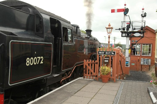 Chinnor railway courtesy of Phil Marsh