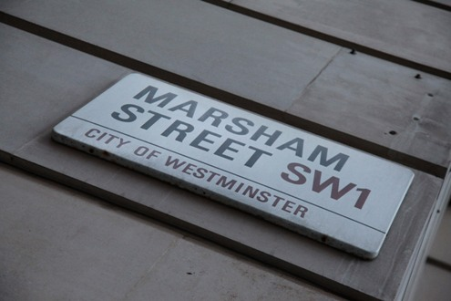 The DfT address Marsham Street courtesy of Phil Marsh