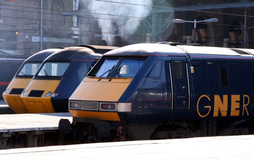 GNER at Kings Cross courtesy of Phil Marsh