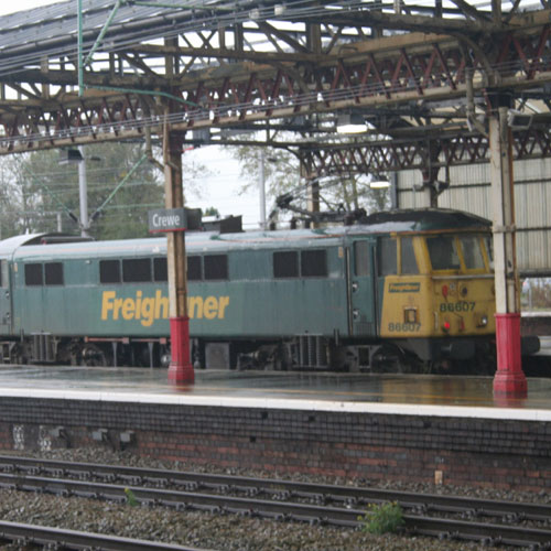 Class 86 Electric at Crewe
