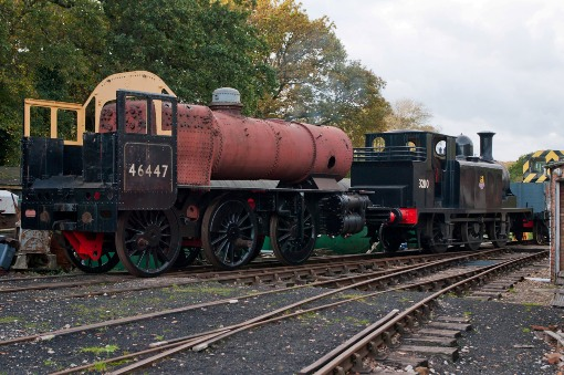 The two engines together at Havenstreet by IOWSR courtesy of Phil Marsh