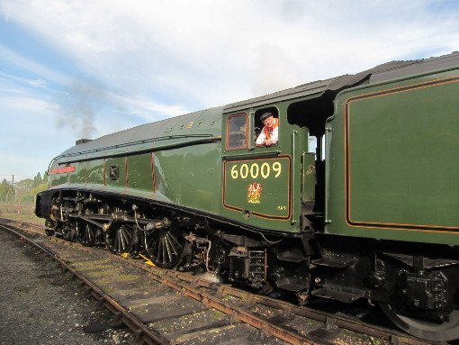 LNER a4 No. 60009 courtesy of Phil-Marsh