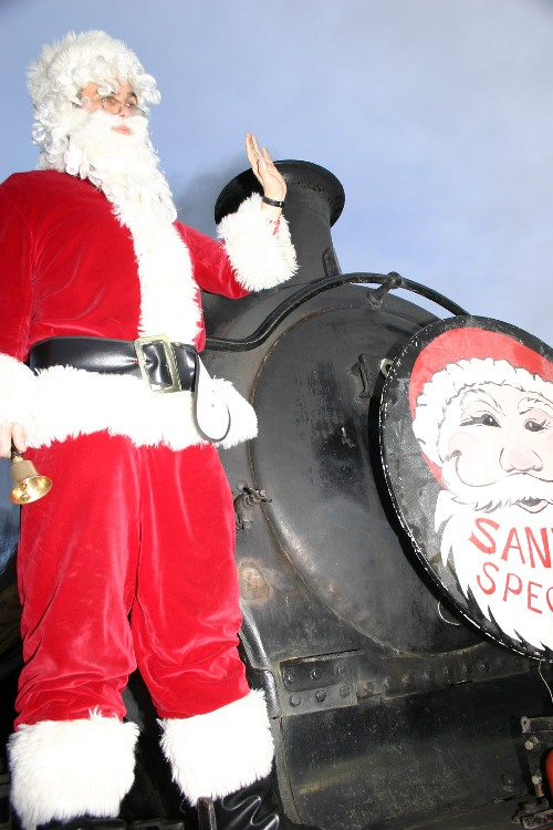Santa train courtesy of Phil Marsh