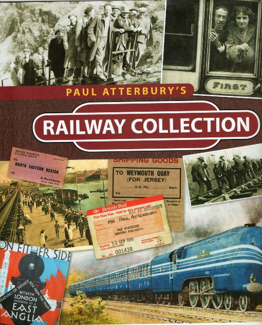 Cover of Paul Atterbury's Railway Collection