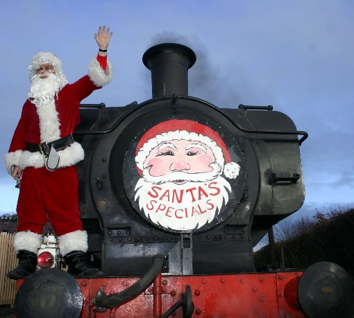 Chinnor and Princes Risborough Railway Santa Special courtesy of Phil Marsh