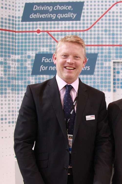 Network Rail's Tim Robinson freight director courtesy of Phil Marsh