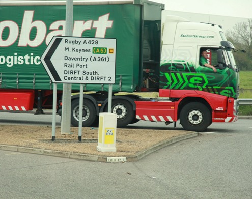Stobart lorry railfreight courtesy of Phil Marsh