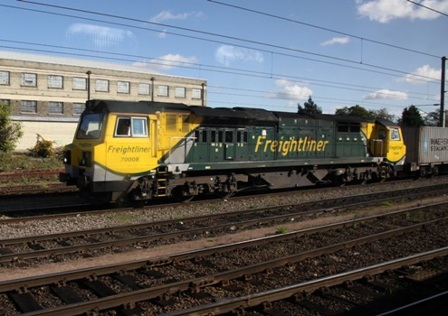 Freightliner train at Ipswich courtesy of Phil Marsh