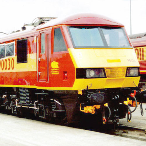 Class 90 Electric at Crewe Works Open Day