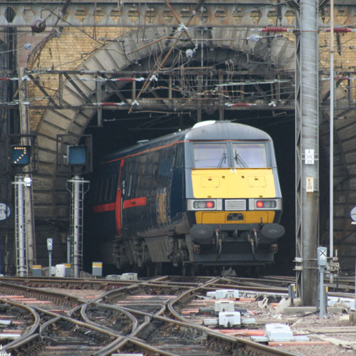 Class 91 Electric at Leeds