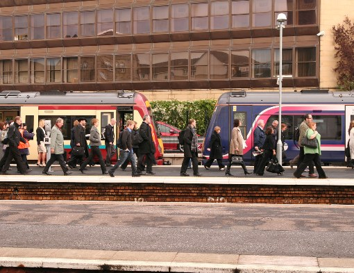 Edinburg Commuters courtesy of Phil Marsh