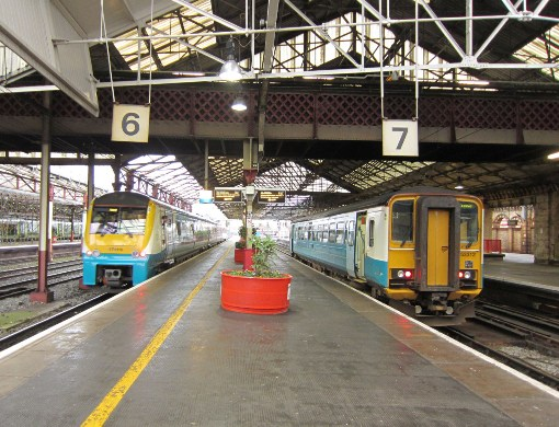 Arriva Trains at Crewe Courtesy of Phil Marsh