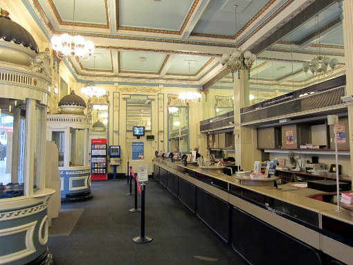 The now closed Waterloo Travel Centre interior cortesy of Phil Marsh