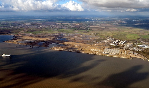 London Gateway Aerial Photo from DP London Gateway courtesy of Phil Marsh