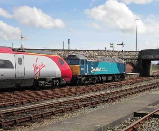 Holyhead Pendolino and 57314 courtesy of Phil Marsh