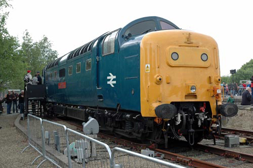 NRM Deltic No.55002 courtesy of Paul Bickerdyke