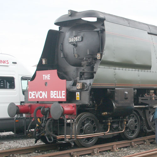 SR West Country and Battle of Britain Class Steam Locomotive