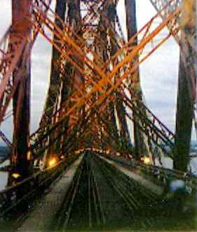 Drivers View of Forth Bridge courtesy of Phil Marsh