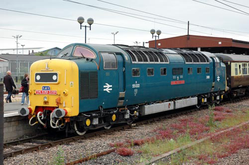 Deltic No 55011 Royal Scots Grey courtesy of Paul Bickerdyke
