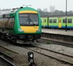 London Midland trains at Worcester courtesy of Phil Marsh