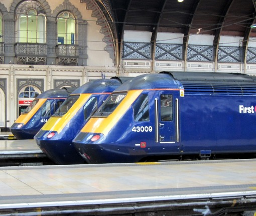 Trains at Paddington courtesy of Phil Marsh