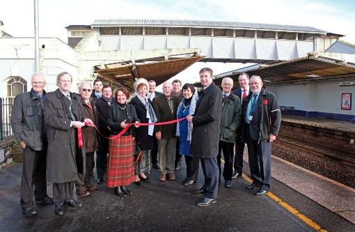 Dawlish Footbridge opens courtesy of First Great Western