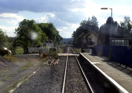Drivers Eye View of a Level Crossing courtesy of Phil Marsh