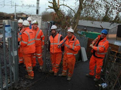 Bletchley Gang of 7 at Work courtesy of Phil Marsh