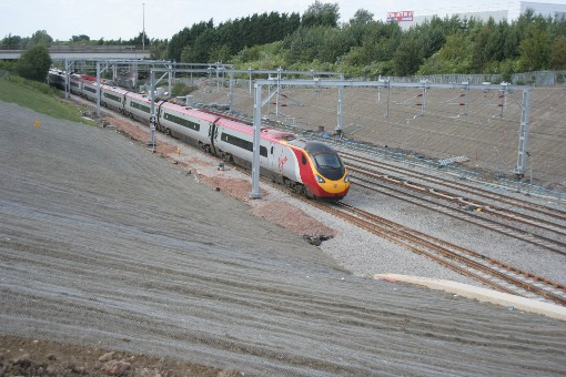 New Track and Train at Milton Keynes courtesy of Phil Marsh