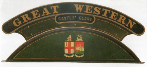 Great Western Locomotive nameplate courtesy of Great Central