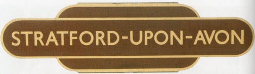 Stratford Station sign courtesy of Freat Central Auction