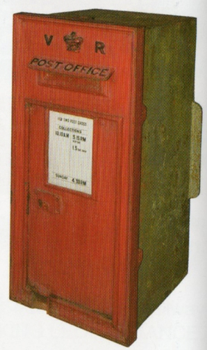 Victorian Letter Box courtesy of Great Central Auctions