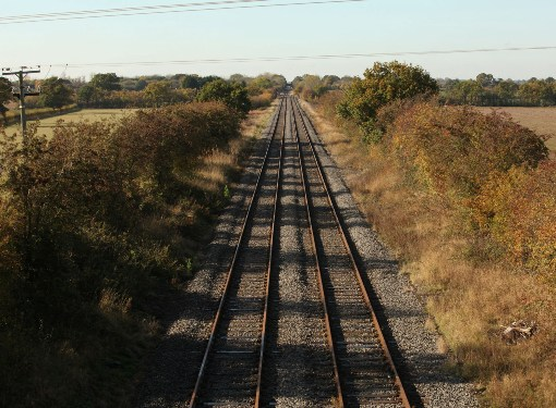 East West Line at Claydon ro be Electrified by Phil Marsh