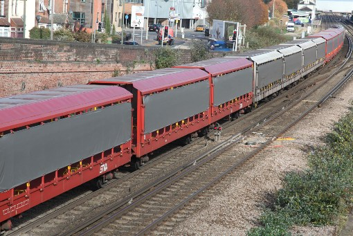 Long Freight Trains by Phil Marsh