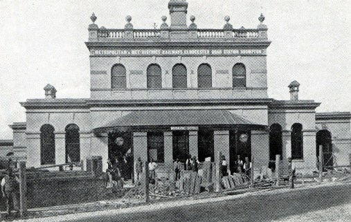 1868 Gloucester Road Station courtesy of Phil Marsh