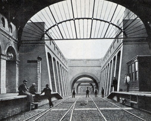 1868 Notting Hill Gate courtesy of Phil Marsh