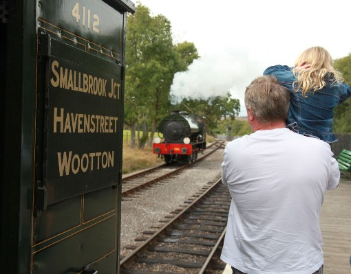 Family steam railway attraction courtesy of Phil Marsh