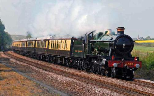 4965 on a previous Vintage Valentines Express courtesy of Vintage Trains
