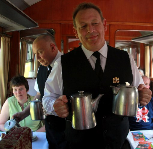 Pullman Car service courtesy of Phil Marsh