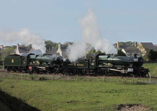 Vintage steam locomotives courtesy of Phil Marsh