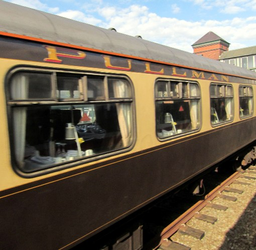 Vintage Trains pullman carriage courtesy of Phil Marsh