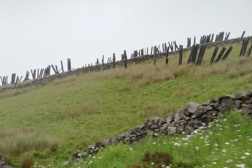 50 year old Snow fences on the Settle Carlisle line courtesy of Phil Marsh