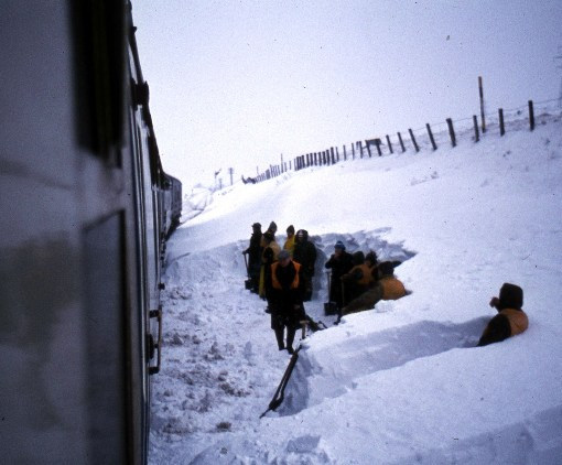 1970s snow clearance methods courtesy of Phil Marsh