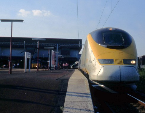 Eurostar at Brmingham international courtesy of Phil Marsh