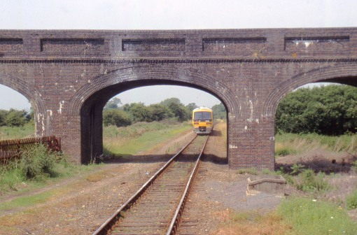 HS2 and the east west rail link cross at this bridge courtesy of Phil Marsh
