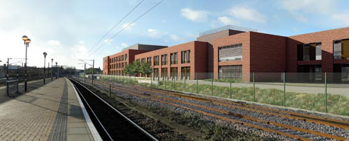 How the new ROC will look when finished Network Rail courtesy of Paul Bickerdyke