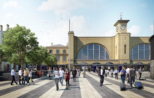 How the approach to the station will look courtesy of Paul Bickerdyke