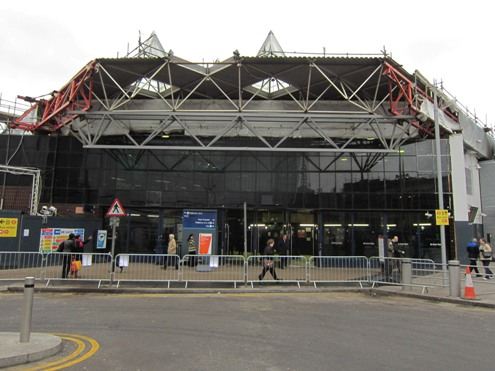 London Bridge concourse being demolished courtesy of Phil Marsh