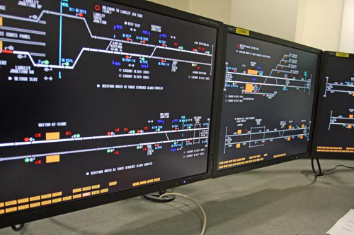 Close up of Hertford loop simulator courtesy of Phil Marsh