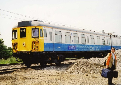 Old dalby ertms test train in 2001 courtesy of Phil Marsh